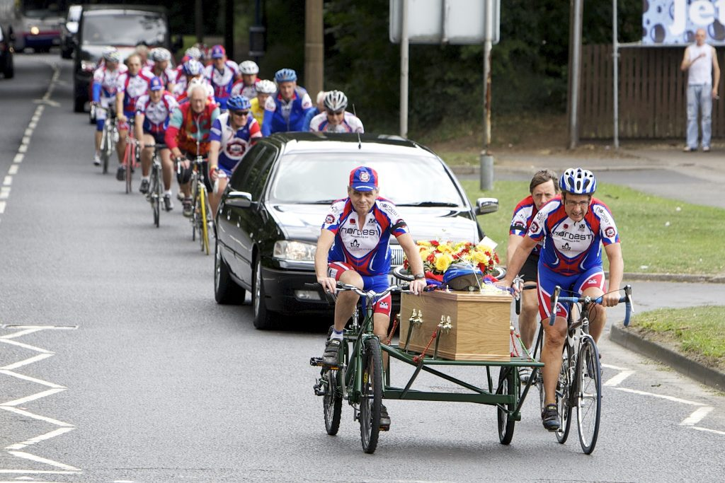 cycling-funeral