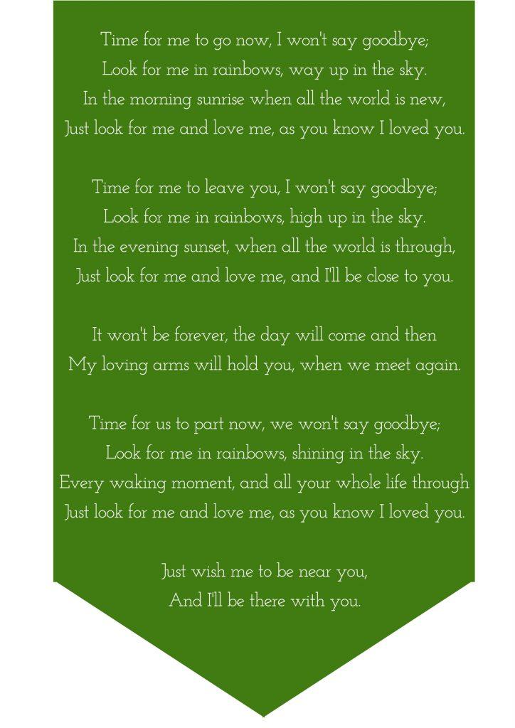 poem for eulogy